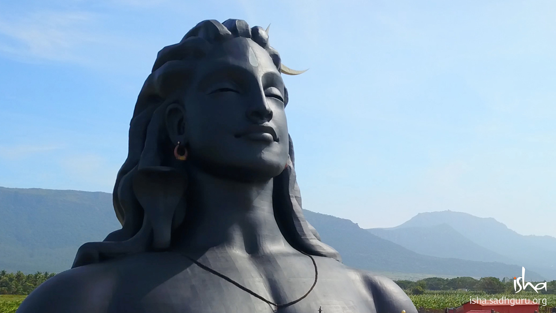 Shiva Wallpaper adiyogi 112ft v2